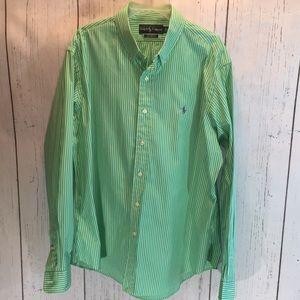 Man Long sleeve polo shirt